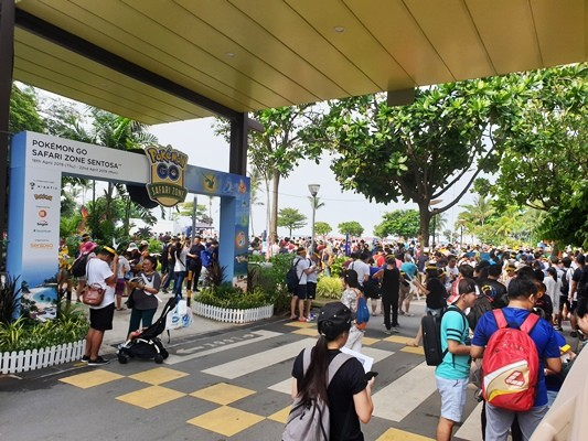 Singapore's first-ever Pokémon GO Safari Zone, Sentosa™