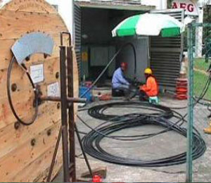 Outside Plant – OSP Cable Installation / Diversion by Blowing or conventional pulling method